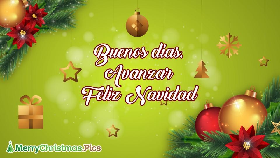 Buenos Dias Y Navidad Feliz Navidad Imagenes, Mensajes