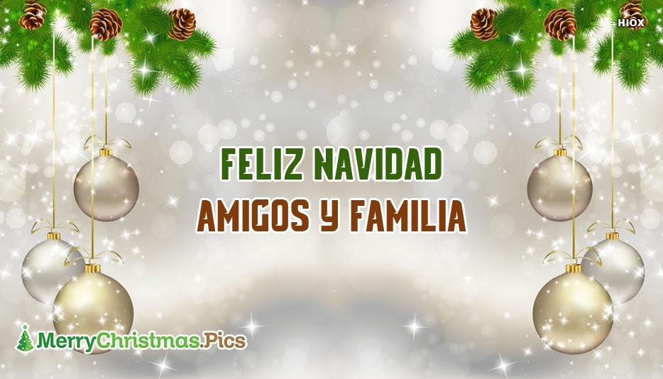 Imagenes De Feliz Navidad Familia