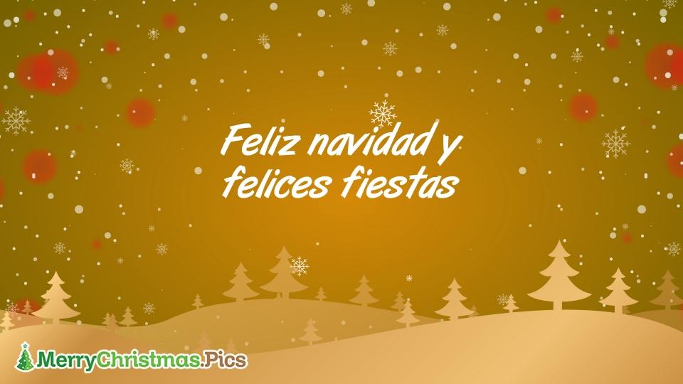 Felices Vacaciones Feliz Navidad Imagenes, Mensajes