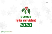 Avance Feliz Navidad 2020
