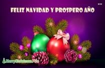 Feliz Navidad Y Prospero Año