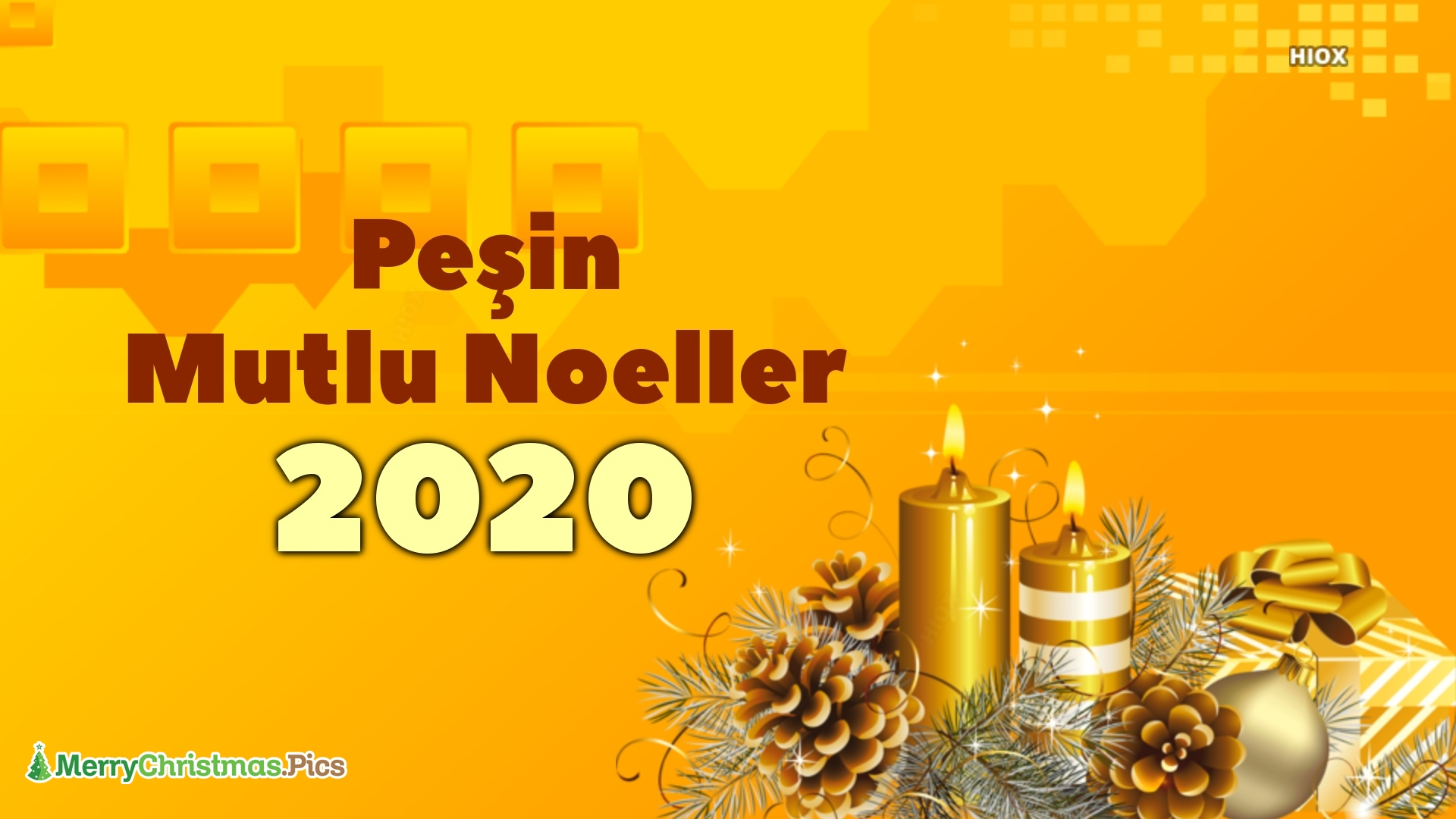 Advance Merry Christmas In Turkish