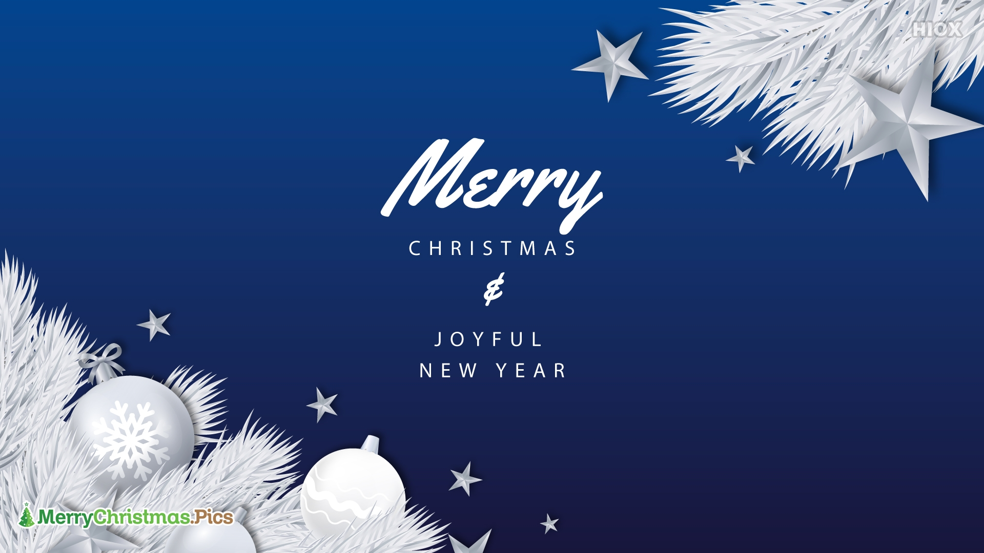 Merry Christmas and Joyful Newyear.