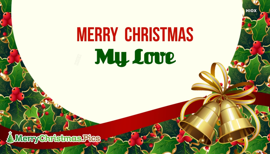 lover merry christmas images