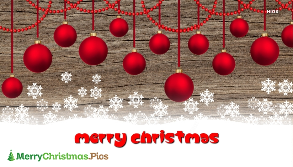 Merry Christmas Balls Images