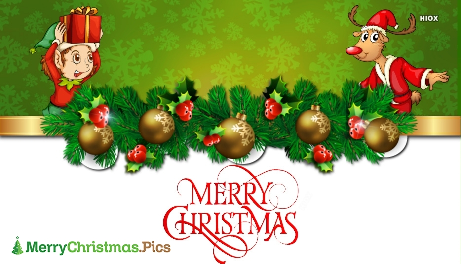 Merry Christmas Family and Friends