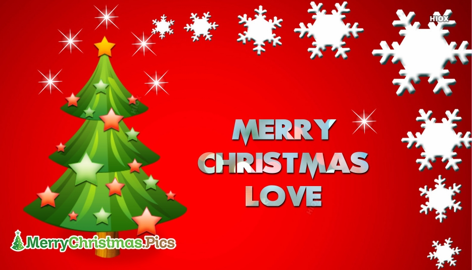 Merry Christmas Images for My Love