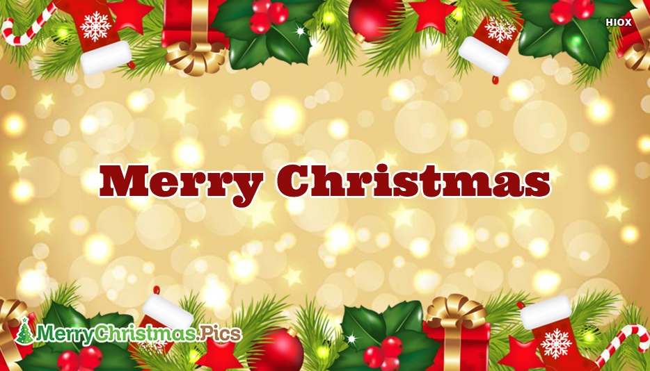 Merry Christmas Wallpaper Images, Pictures Free Download