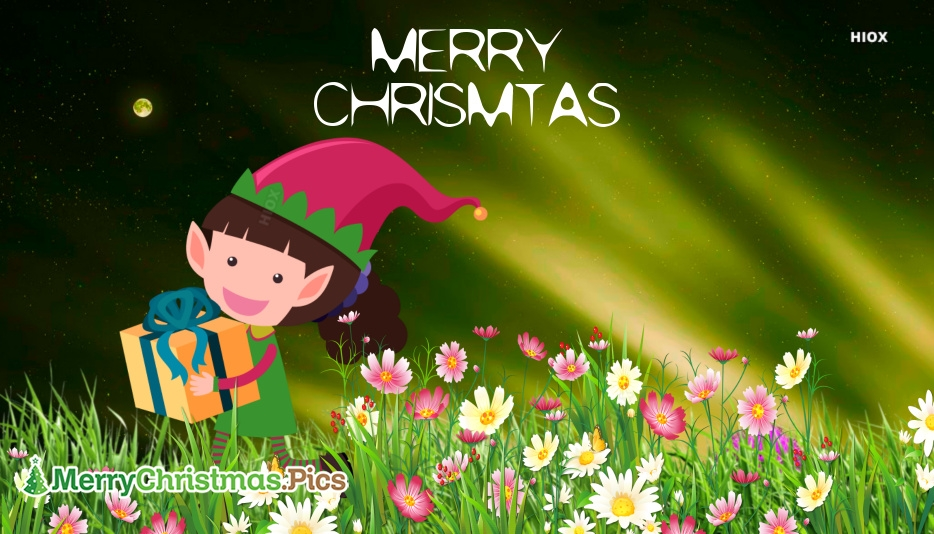 Merry Christmas Message For Sister