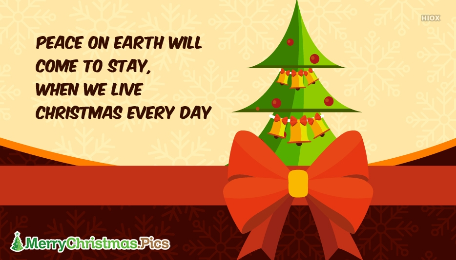 Happy Christmas Quote Image