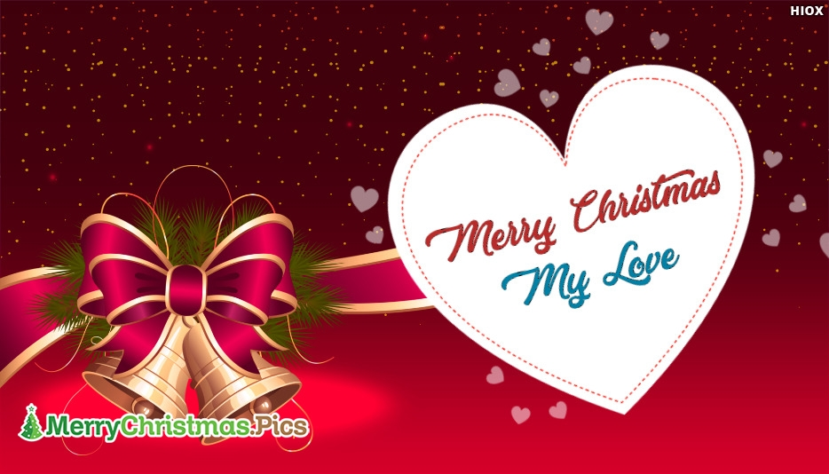 Merry Christmas To My Love Image