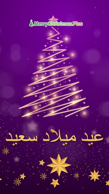 Merry Christmas Wishes In Arabic