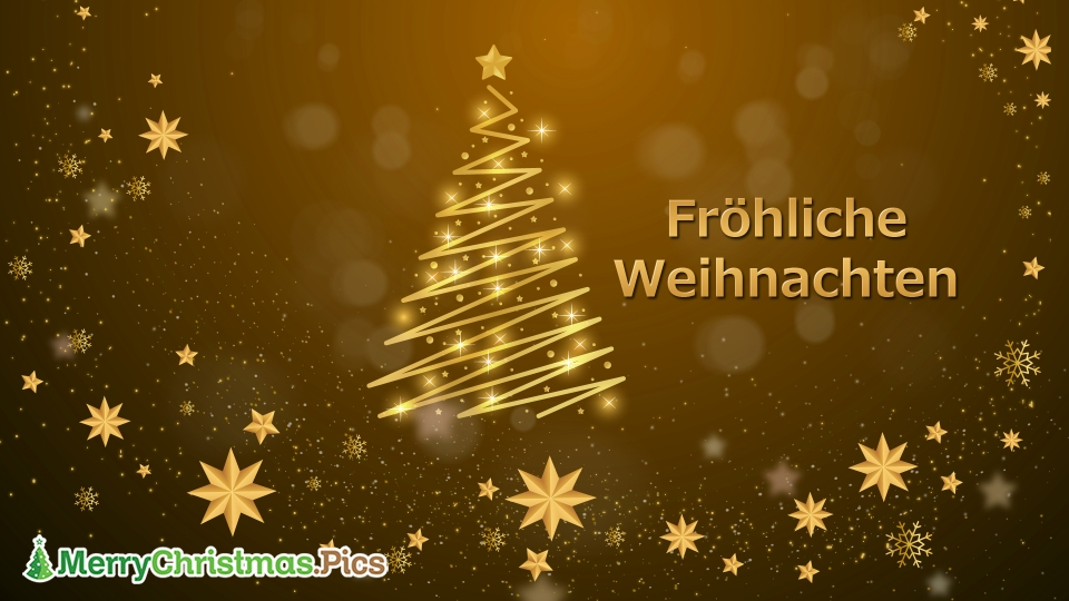 Merry Christmas Wishes In German