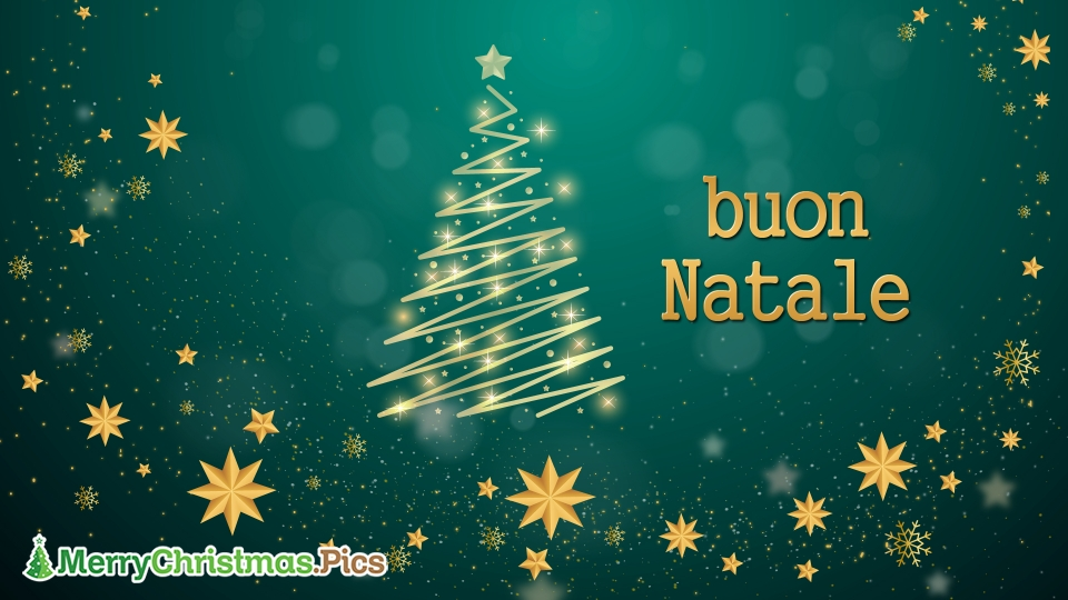 Merry Christmas Wishes In Italian