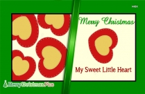 Christmas Greetings For Love
