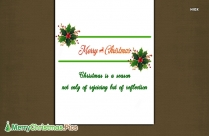 Very Merry Christmas