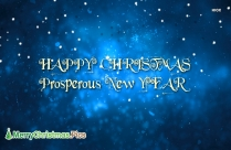 Happy Christmas And Blasting New Year Image