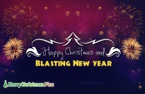 Merry Christmas And A Happy New Year Wishes