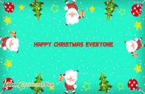 Happy Christmas Everyone Image