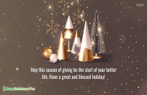 Motivational Christmas Wishes