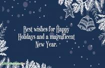 Celebrate The Wonder. Merry Christmas.