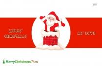 Merry Christmas My Dear Love