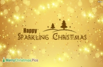 Happy Sparkling Christmas Image