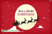 Merry Christmas Images with Santa Claus