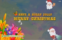 Have A Holly Jolly Merry Christmas Image