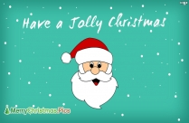 Have A Jolly Christmas Wishes