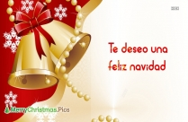 I Wish You A Merry Christmas In Spanish