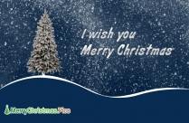 We Wish You A Merry Christmas Happy New Year