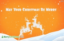 May Your Christmas Be Merry Card