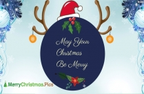 Wish You Advance Merry Christmas Ecard