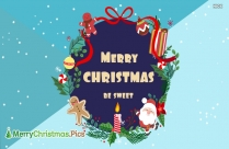 May Your Christmas Be Sweet