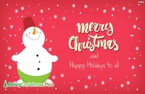 Happy Christmas And Happy New Year Image