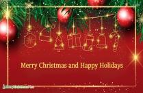 Merry Christmas And Joyful Newyear.