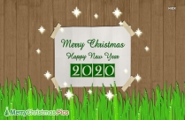 Merry Christmas And Happy New Year 2020 Gif Image