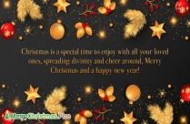 Merry Christmas And Happy New Year 2020 Gif Animated