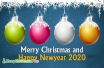 Advance Merry Christmas And Happy New Year