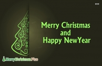 Wish You Merry Christmas Happy New Year