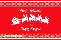 Merry Christmas And Happy New Year Greetings