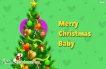 Merry Christmas Baby Image