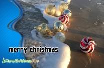 Merry Christmas Beach