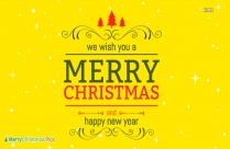 Merry Christmas And Happy New Year Greetings In Malay