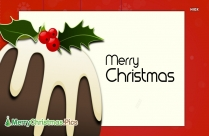Merry Christmas In Block Letters