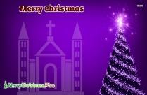 Merry Christmas Catholic Image