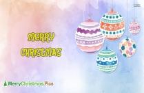 Merry Christmas Chart