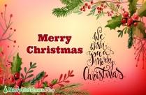 Merry Christmas Christmas Tree