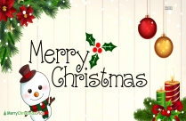 Merry Christmas Blessings To All